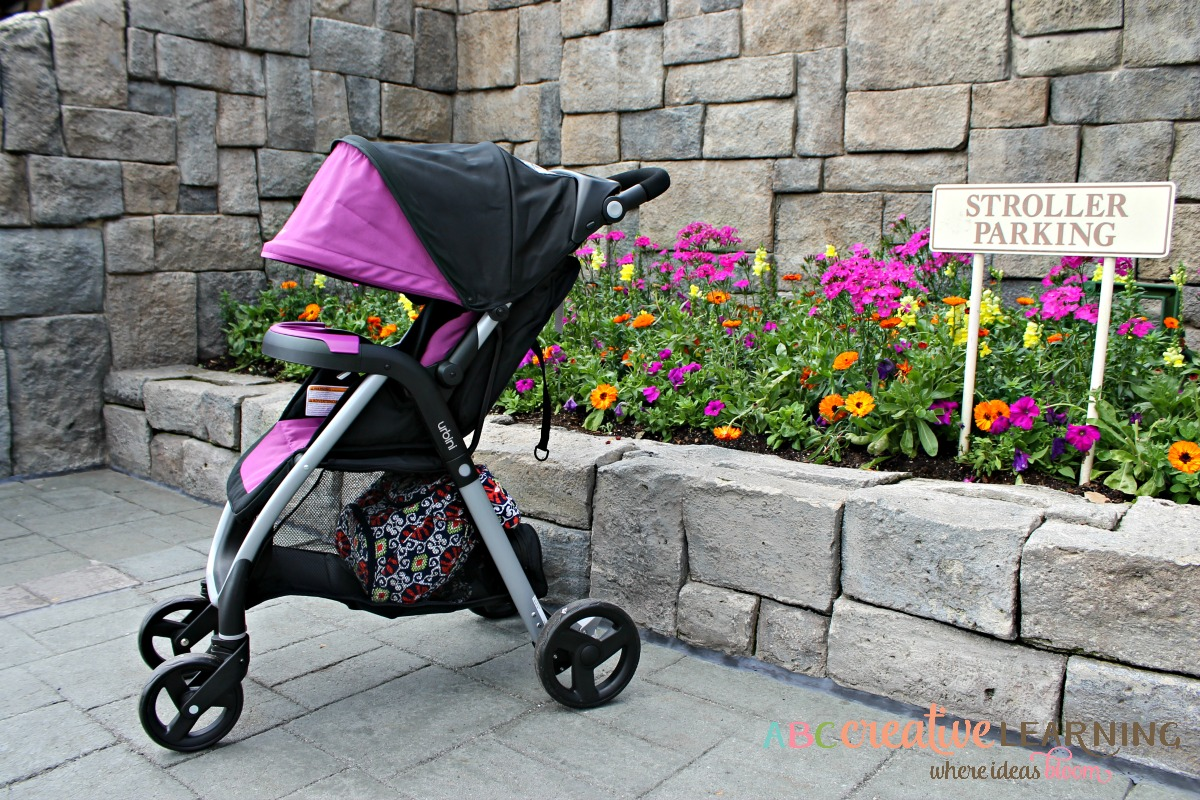 Styling in the #Urbini Emi Luxury Travel System Stroller Large Canopy