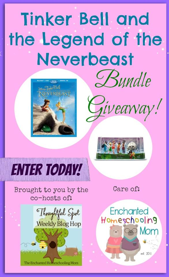 Tinkerbell and theLegend of the Neverbeaat Giveaway!