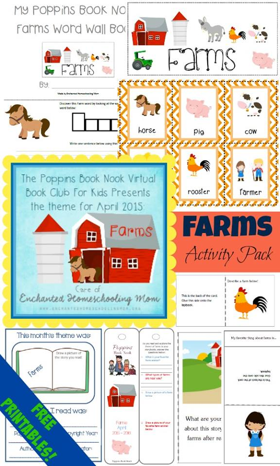 Poppins Book Nook Lapbook April 2015 Pack