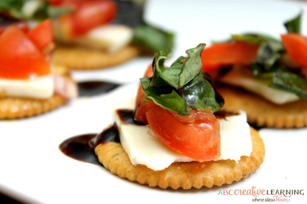 Easy Bruschetta RITZ® Cracker Snack Easy and Delicious