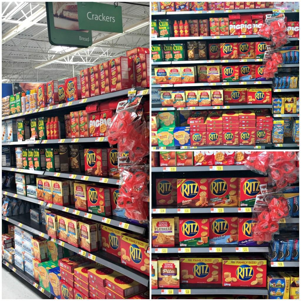 Easy Bruschetta RITZ® Cracker Snack at WalMart