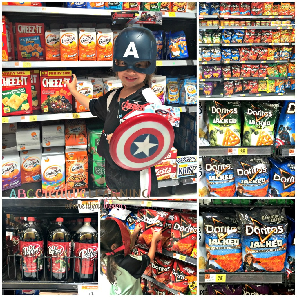 Girls Love MARVEL Avengers In Their Own Special Way Snacks