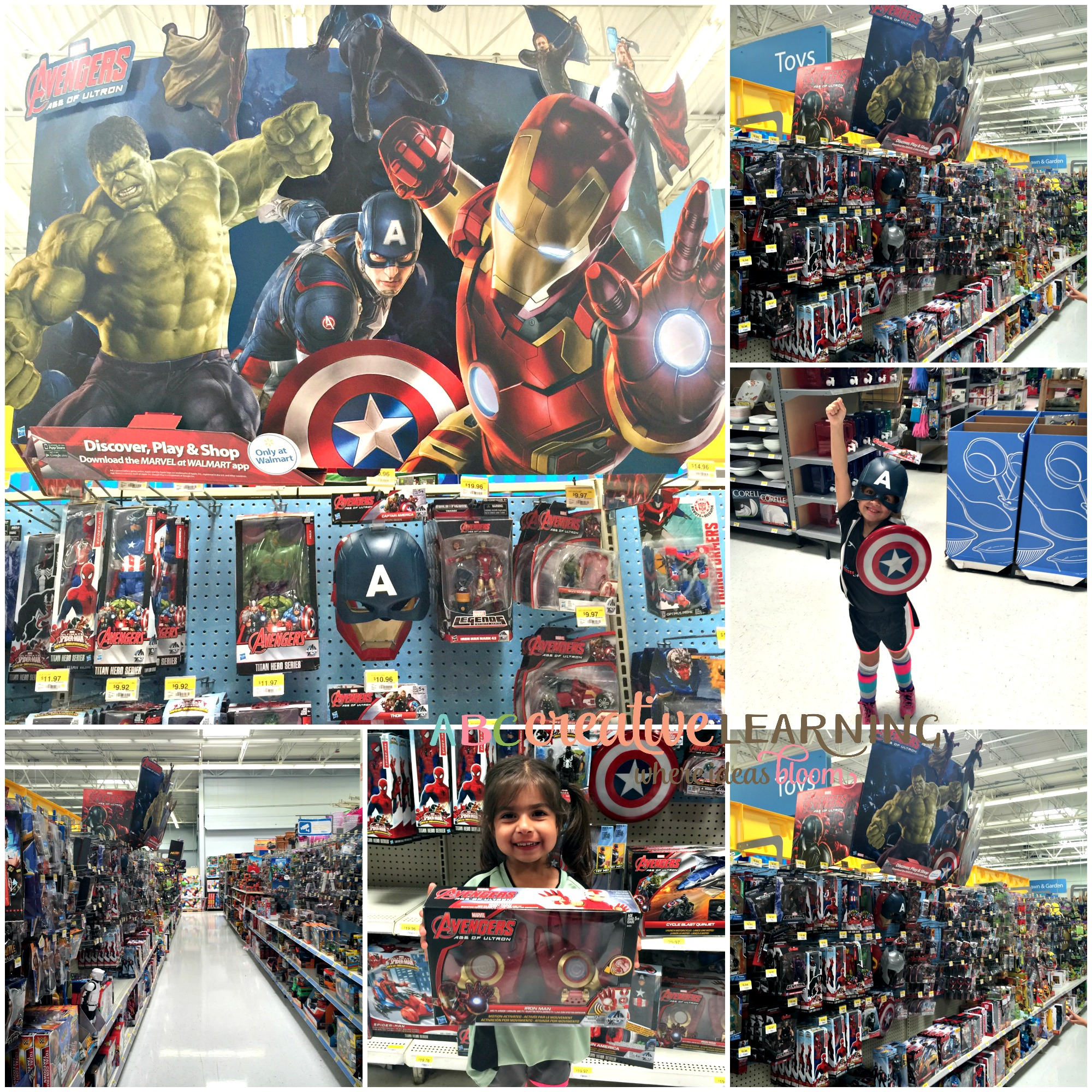 Walmart Toys For Boys Avengers : Girls love marvel avengers in their own special way
