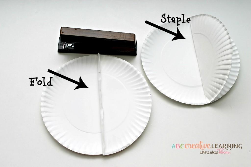 Paper Plate Fish Craft Fin