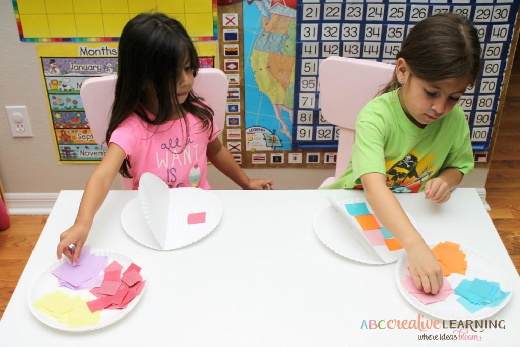 Paper Plate Fish Craft Tissue papar