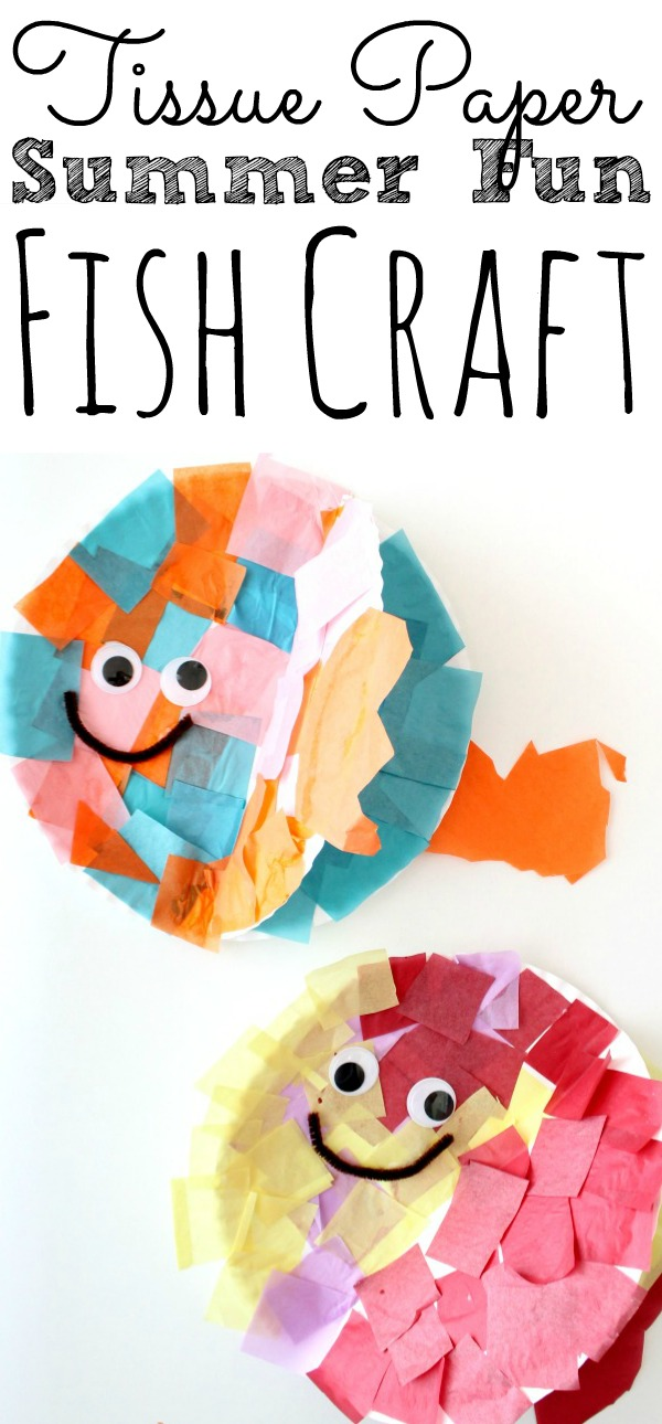 Paper Plate Fish Craft For Kids Simply Today Life