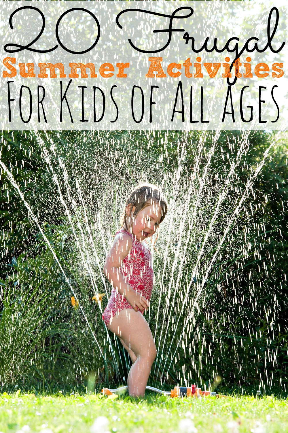 20 Frugal Summer Activities for Kids - abccreativelearning.com