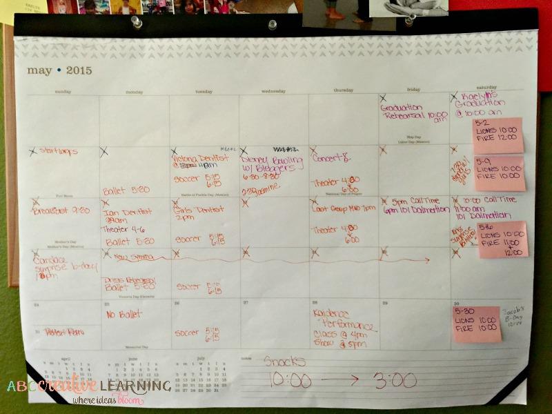 5 Tips I Use To Do It All Calendar