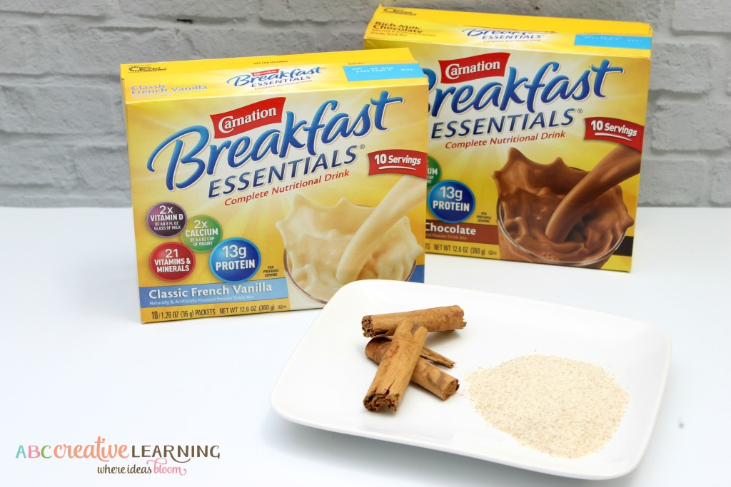 Breakfast Avena Smoothie Recipe Ingredients
