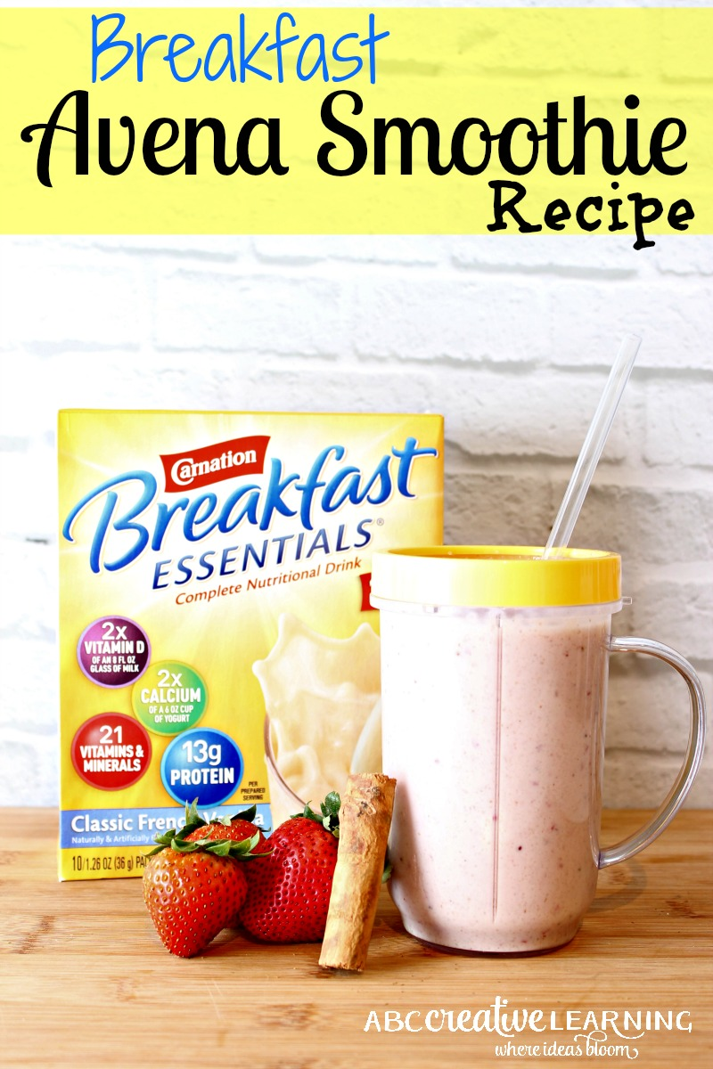 Breakfast Avena Smoothie