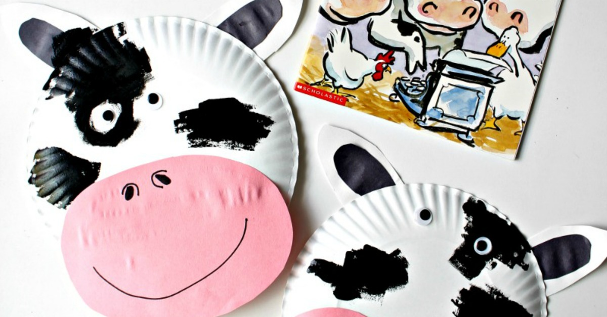 Click Clack Moo Cows That Type Cow Paper Plate Mask - Simply Today Life  sc 1 st  ABC Creative Learning & Click Clack Moo Cows That Type Cow Paper Plate Mask - Simply Today ...