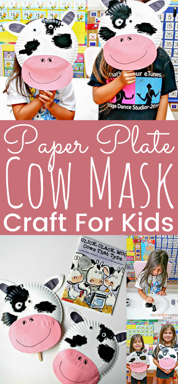 Chick-fil-A Cow Day { Paper Plate Cow Masks With Free Printables ... | 1290x600