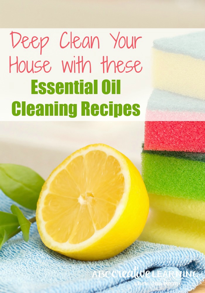 Deep Clean Your House With Essential Oils
