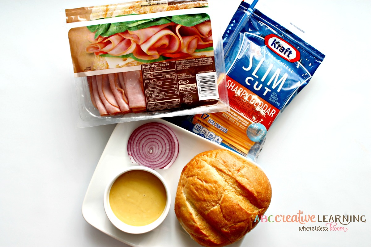 Does Your Future Hold a #Sanewich Sweet and Spicy Ham Pretzel Roll