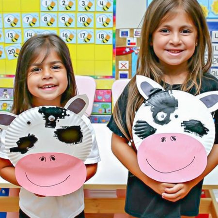 Easy Paper Plate Cow Craft For Kids