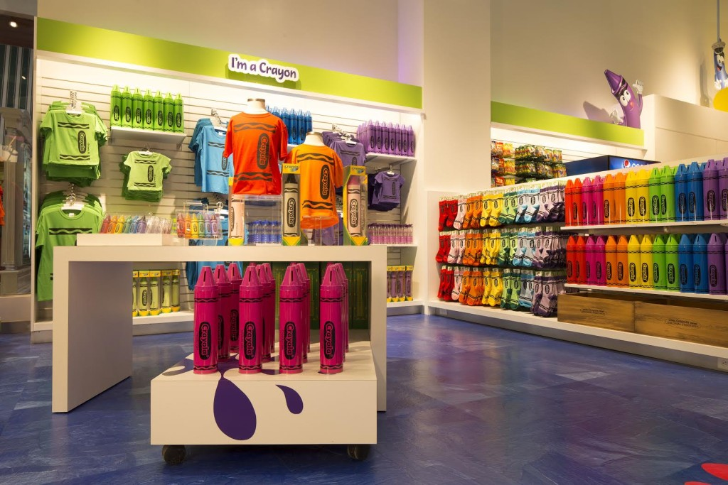 Crayola Experience Opens The Crayola Store at The Florida Mall Inside Store