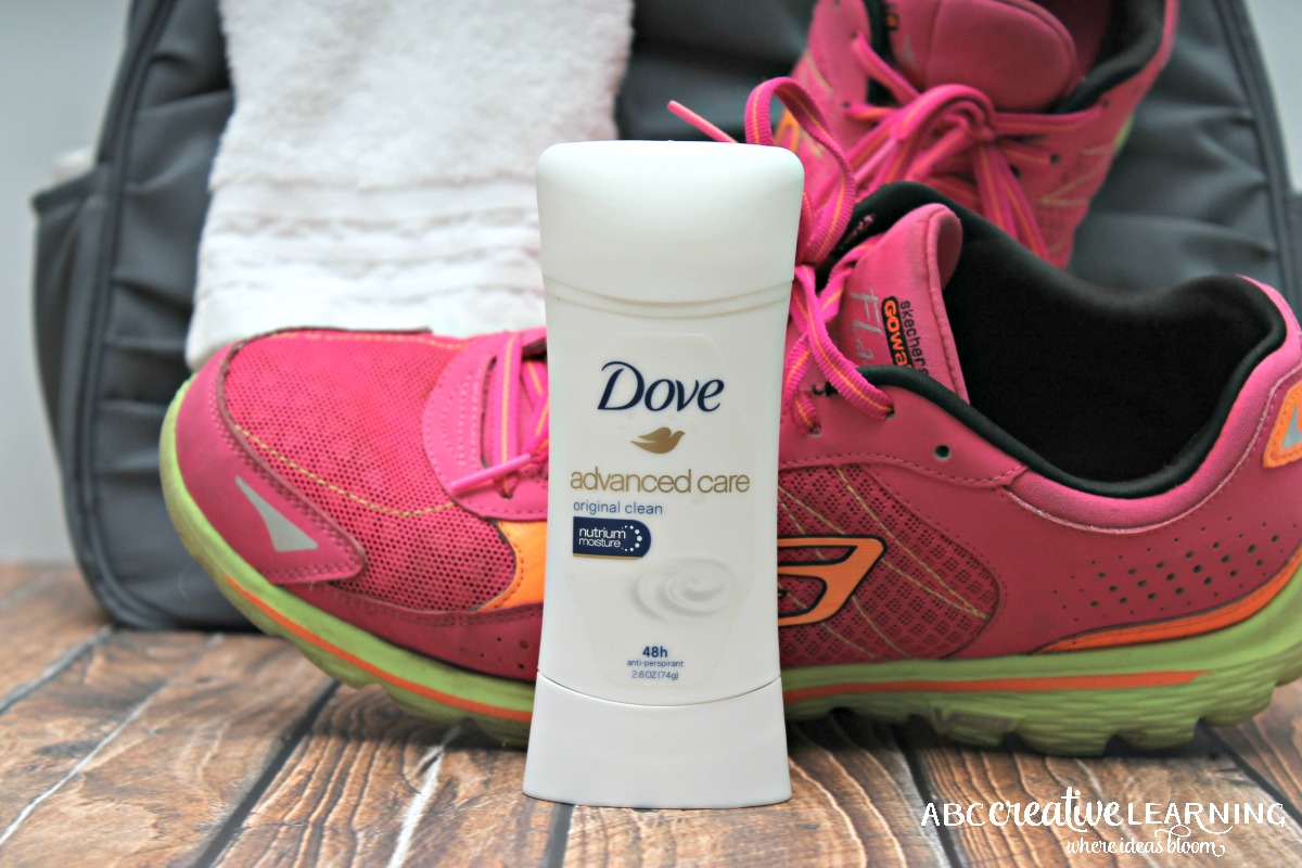 Keeping Active with Dove Advanced Care Anti-PerspirantDeodorant Dove