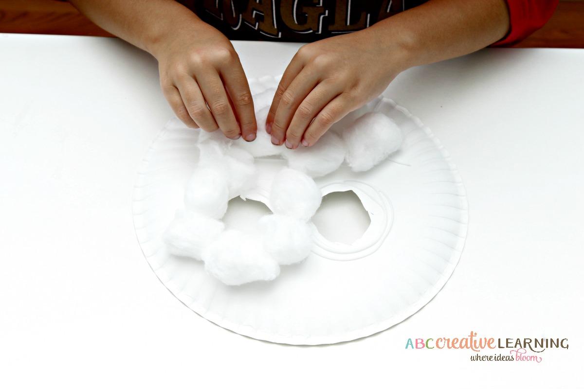 Paper plate lamb mask craft paper plate lamb mask craft face mask jeuxipadfo Images