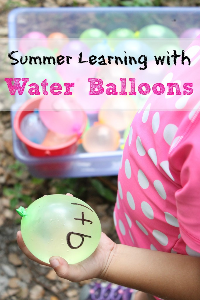 Summer Learning With Water Balloons