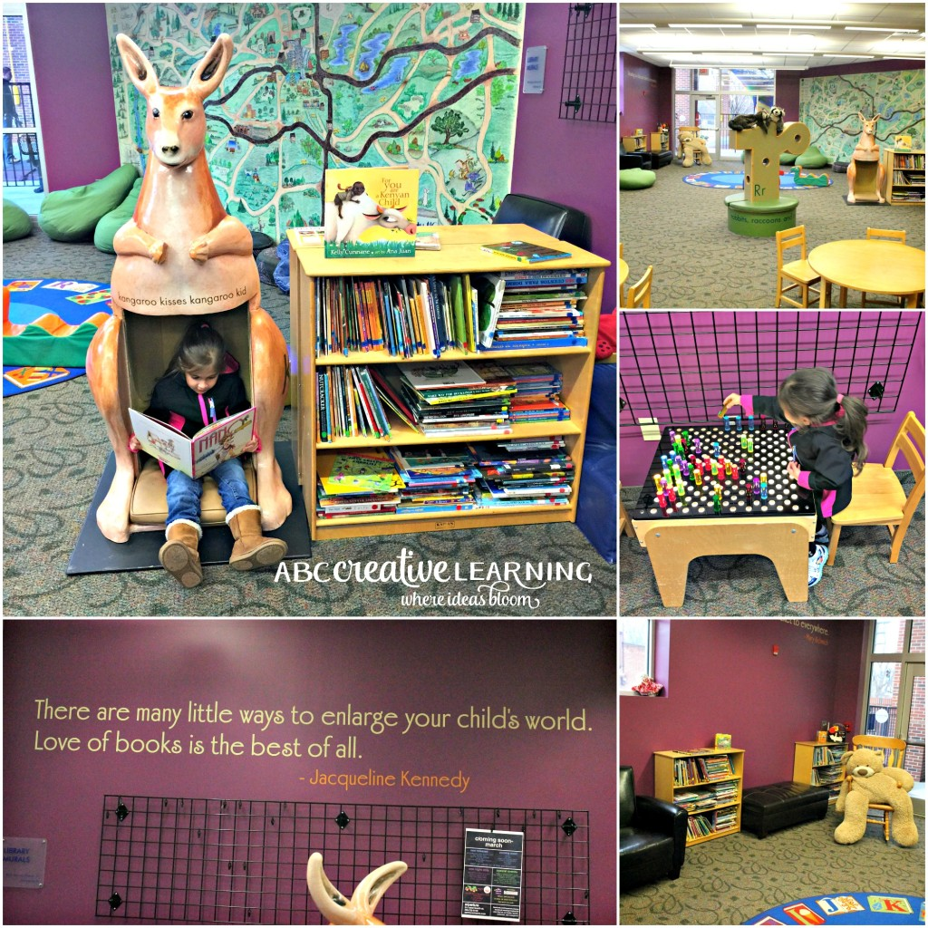Visiting the Children's Museum of Winston-Salem Library