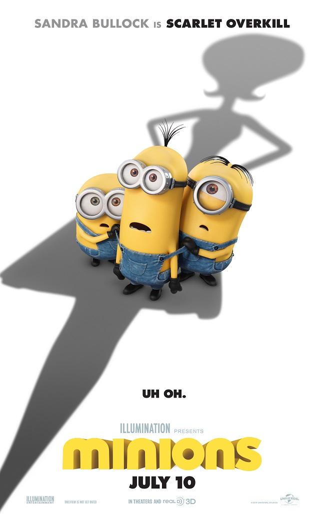 The Minions Movie Trailer