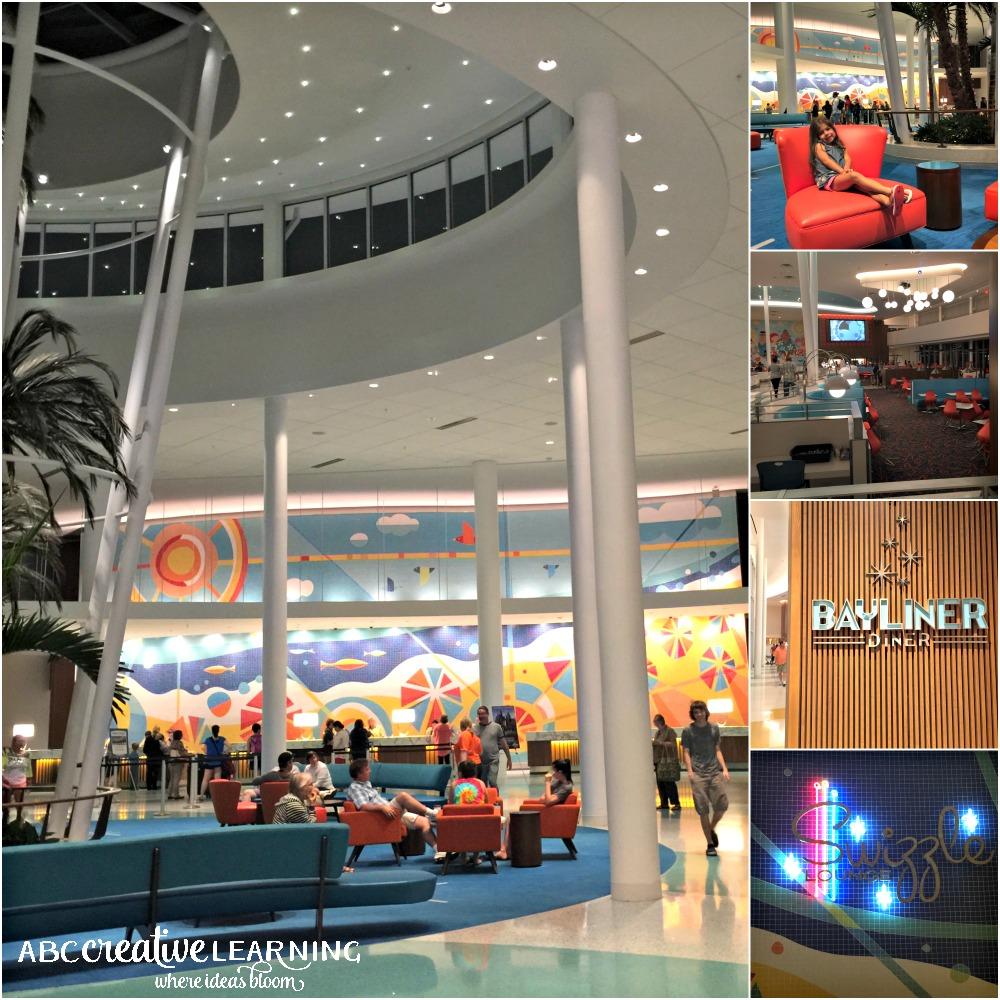 5 Reasons to Stay at Cabana Bay Beach Resort at Universal Orlando Resorts Lobby