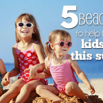 5 Beach Tips To Help Keep Your Kids Safe This Summer