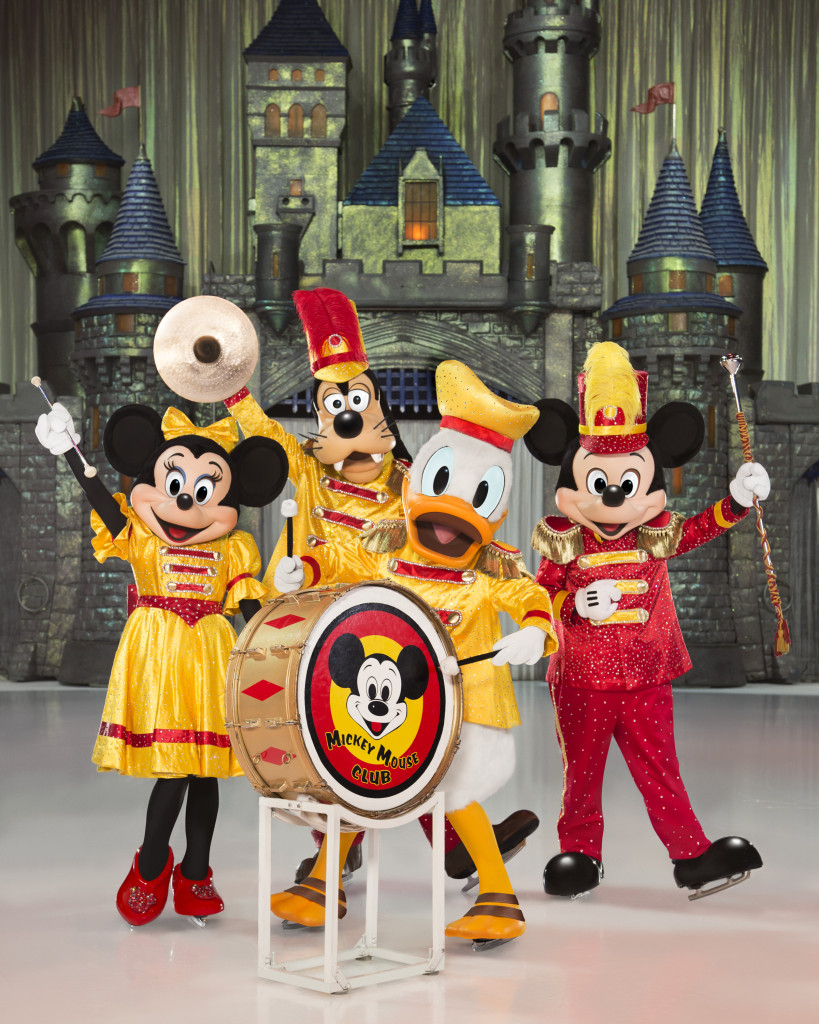 Disney On Ice Celebrates 100 Years of Magic  Minnie, Donald, Goofy, and Mickey