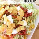 Easy Taco Nacho Recipe