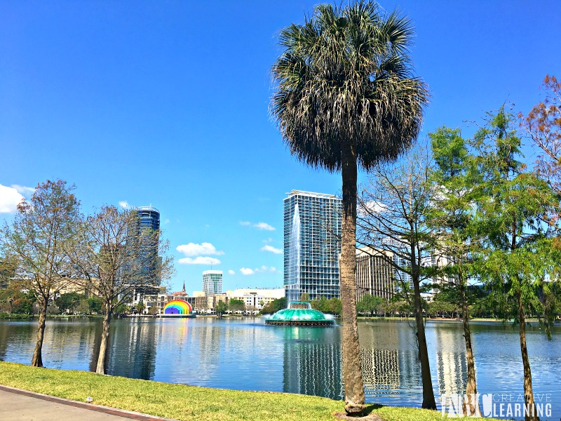 Free Things To Do In Orlando Lake Eola Florida