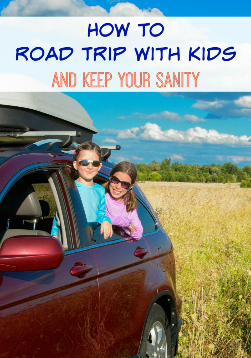 Heading a road trip this summer? If you have children road trips can be hard. Check out my How to Road Trip with Kids and Keep Your Sanity