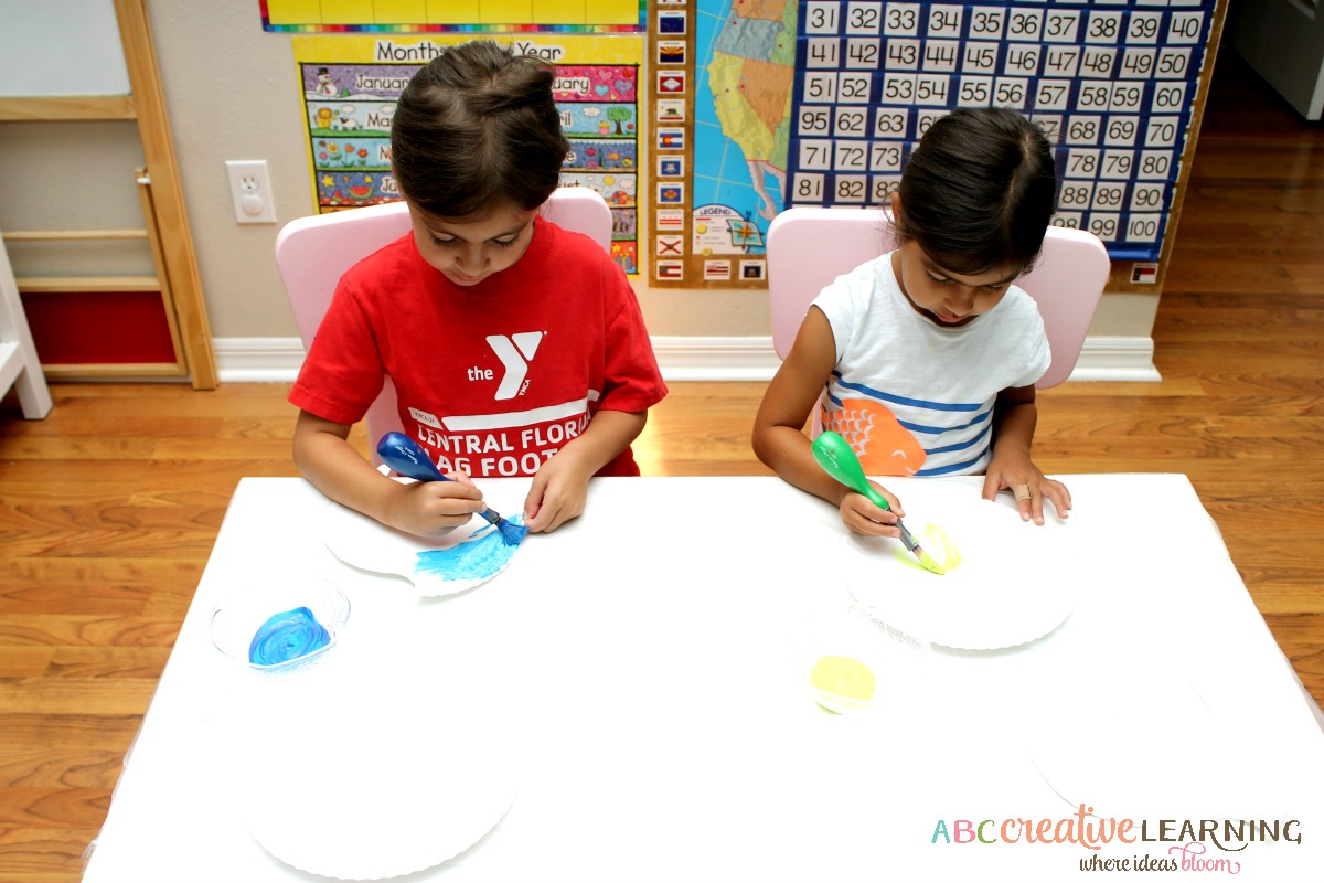 Inside Out Inspired Kids Craft Working Together