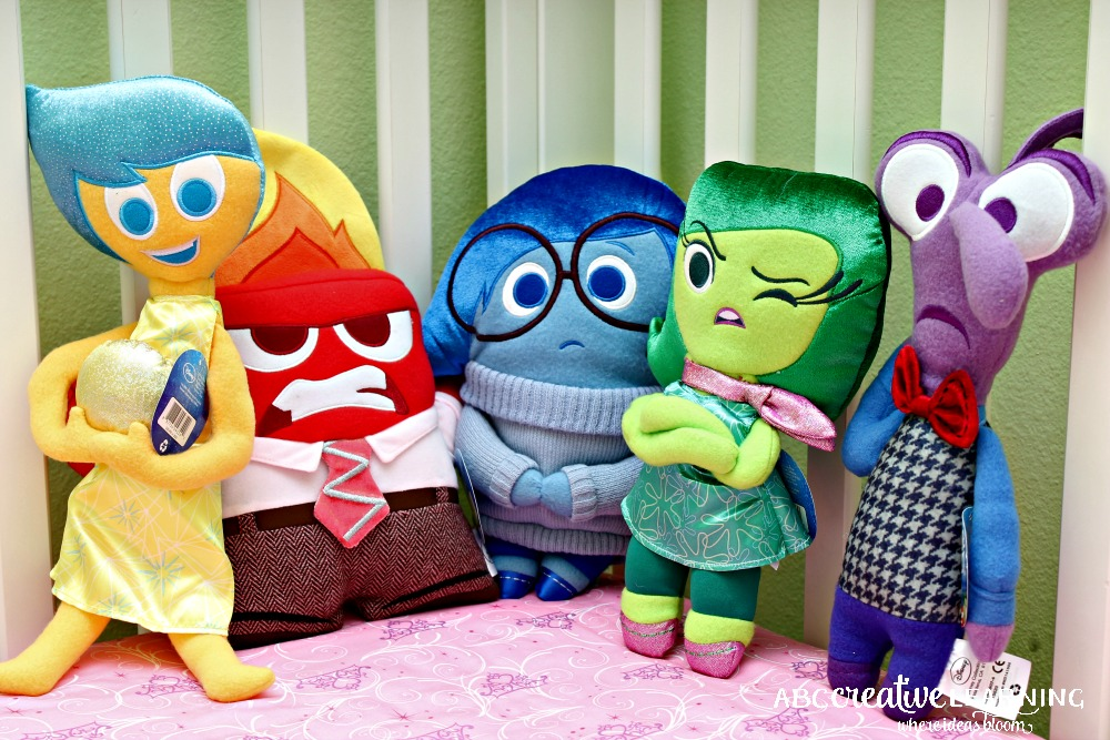 Inside Out Inspired Tulle Toy Plush Holder Emotions