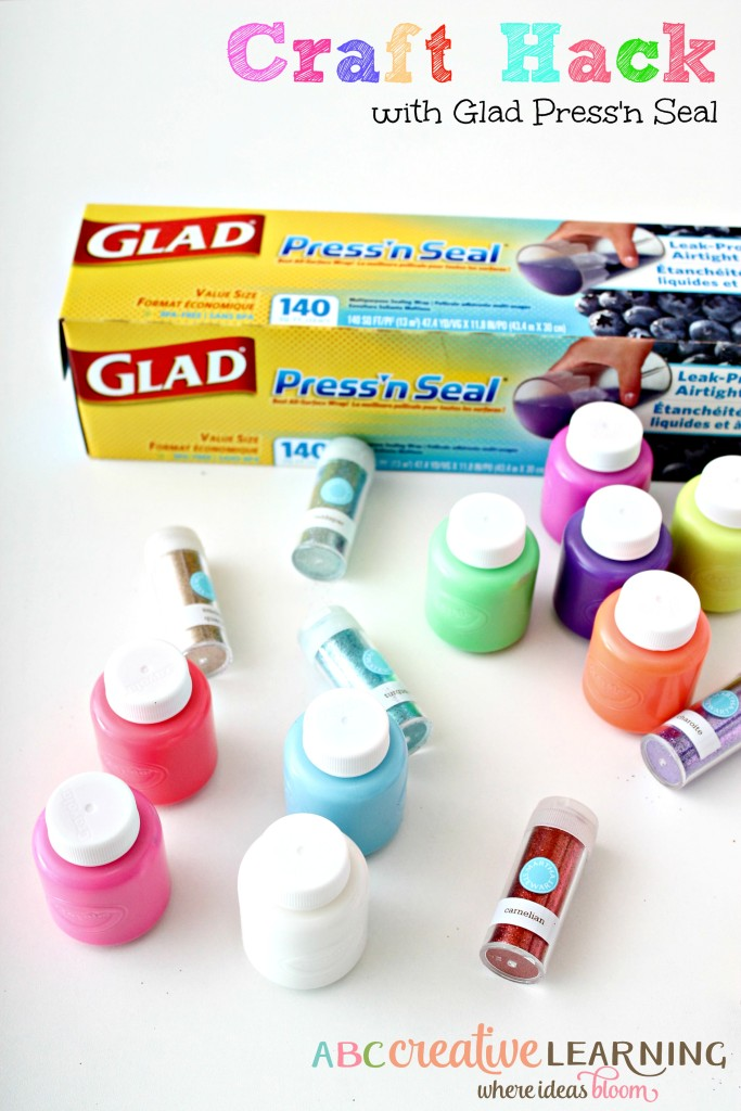 No Mess Craft Time Hack with Glad Press'n Seal