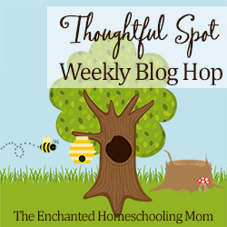 The Thoughtful Spot Weekly Blog Hop Image