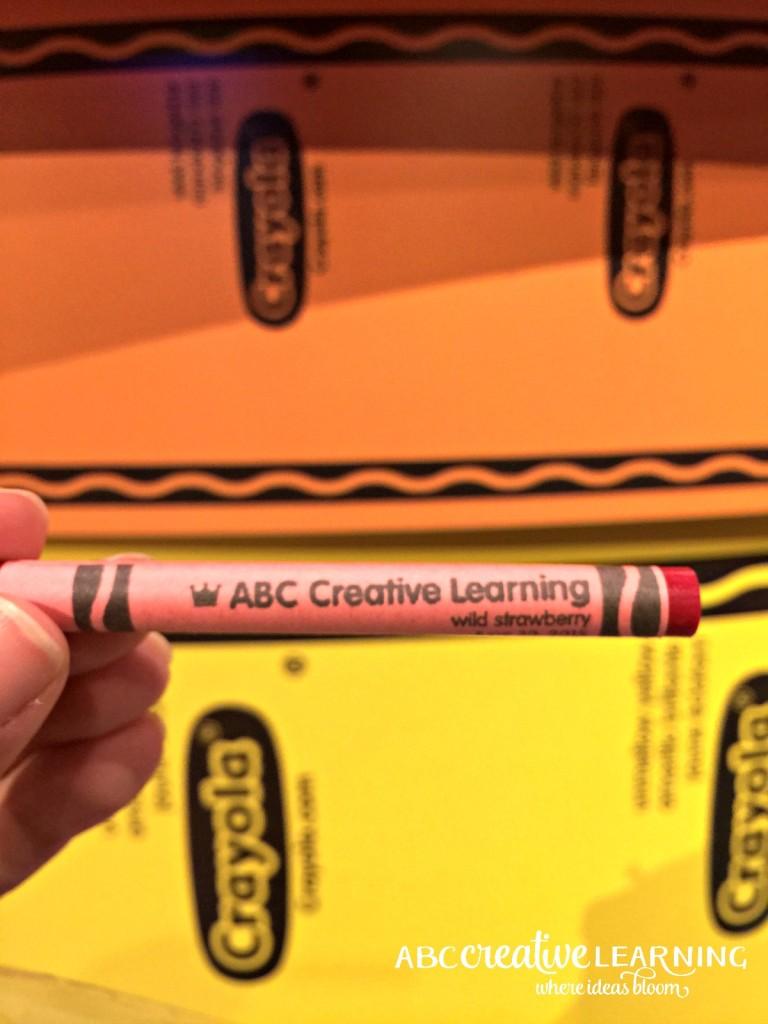 14 Colorful Reasons to Visit Crayola Experience Orlando Crayon Label