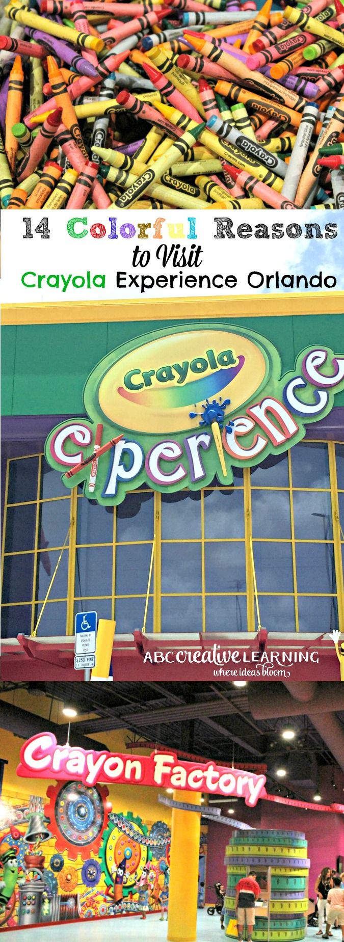 14 Colorful Reasons to Visit Crayola Experience Orlando - abccreativelearning.com