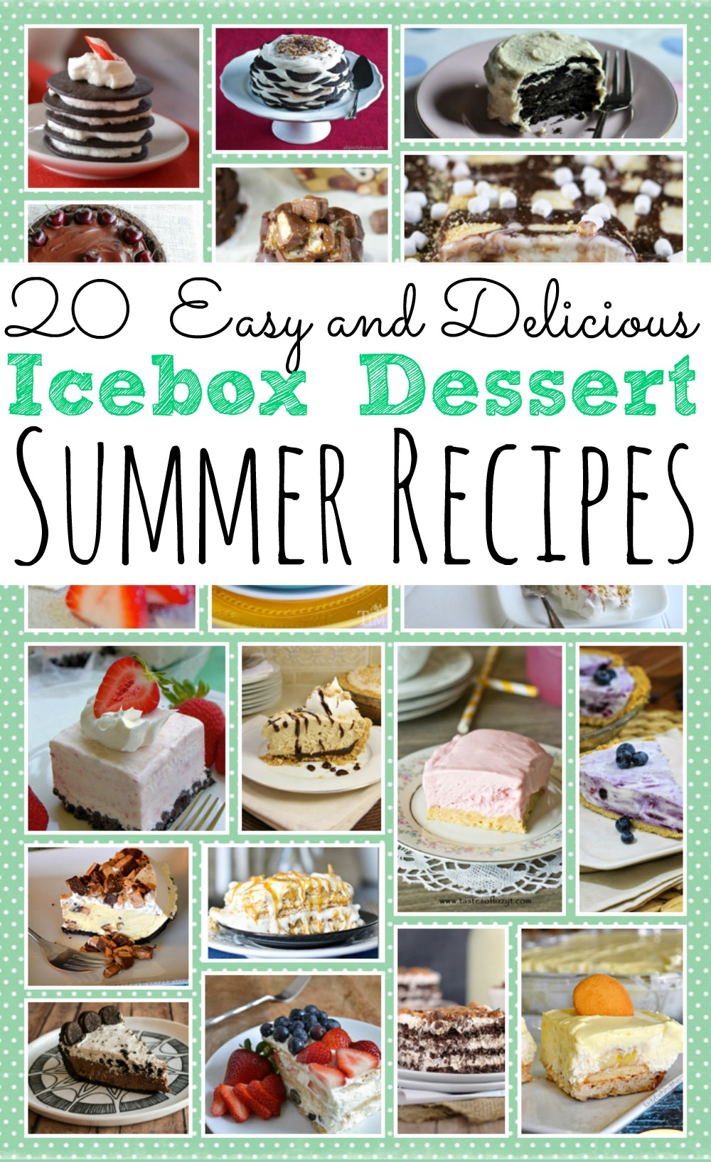 20 Easy Icebox Desserts