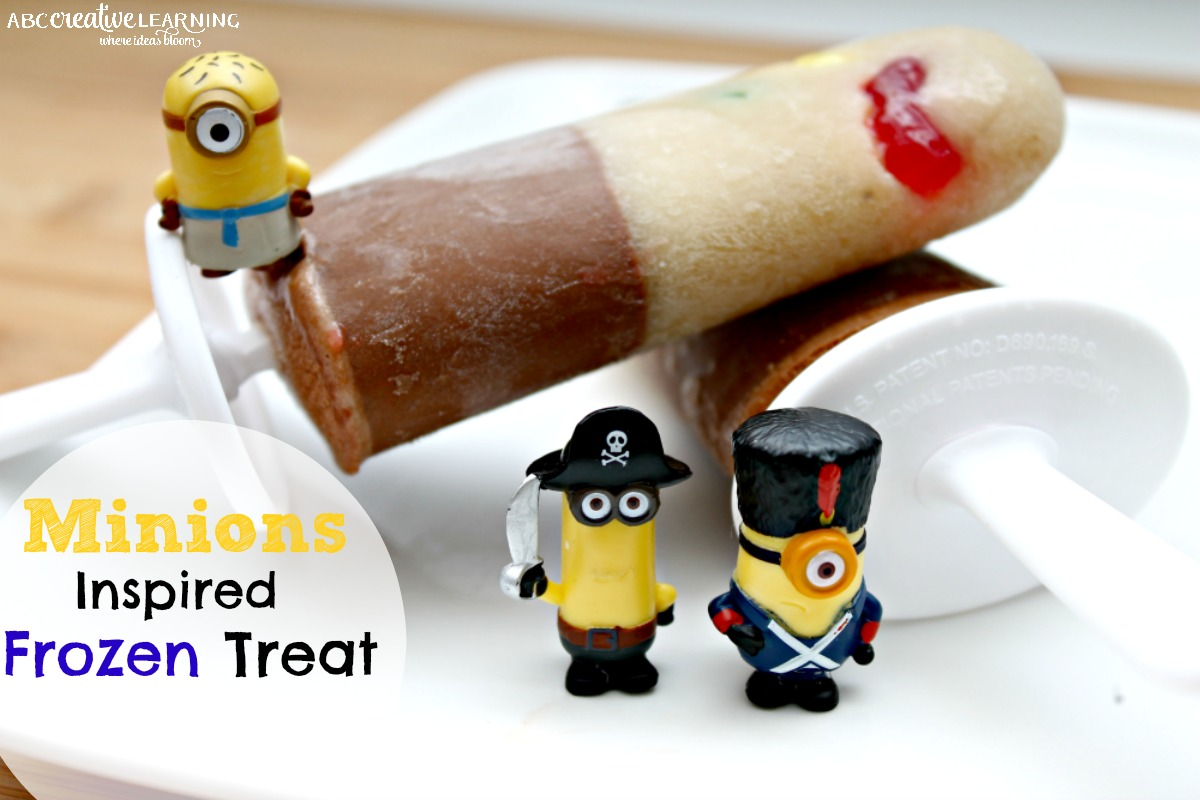 Banana and Nutella Minions Inspired Frozen Gummy Treats