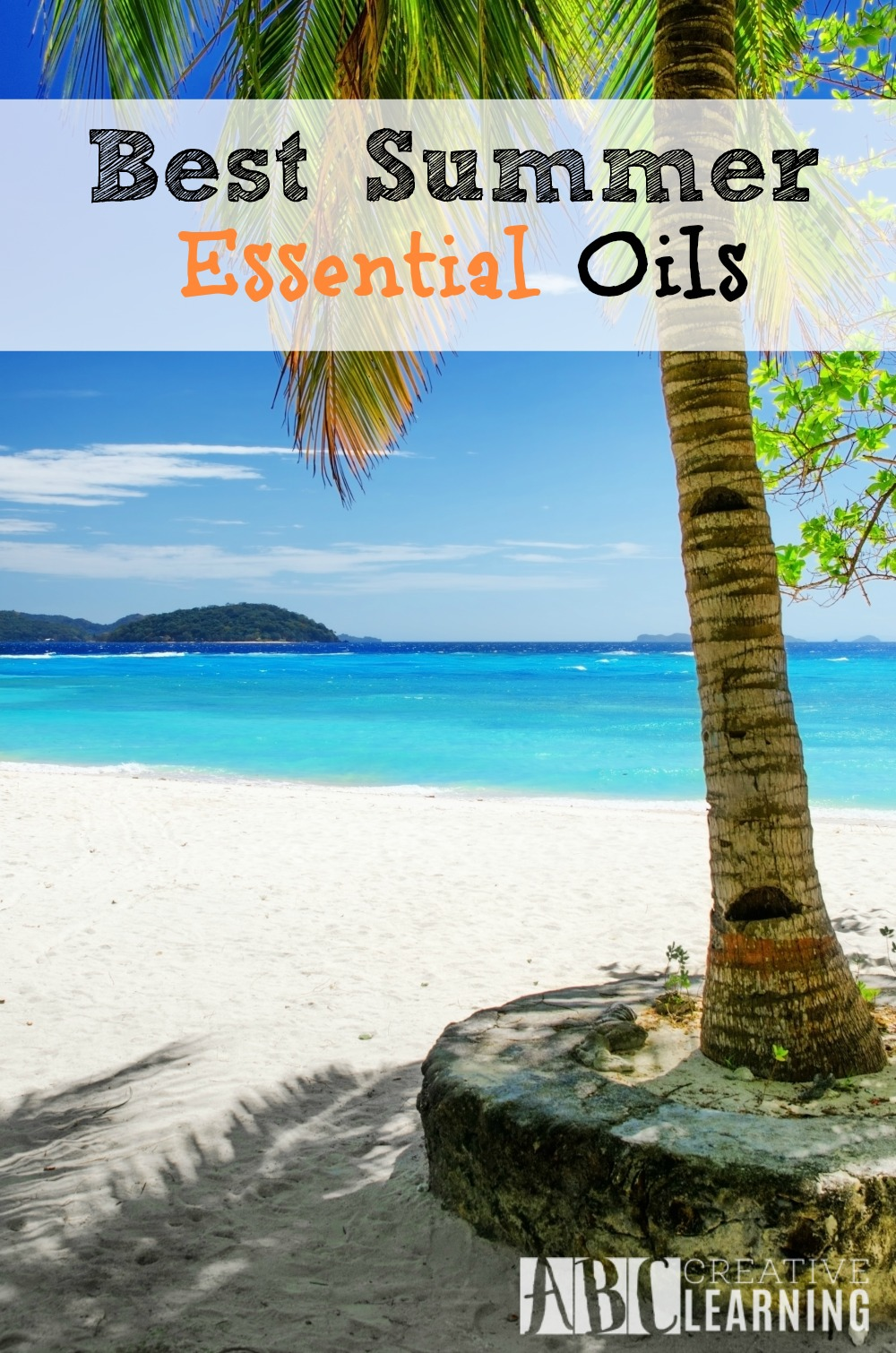 Best Summer Essential Oils you should have in your home to clean or keep away bugs. - abccreativelearning.com