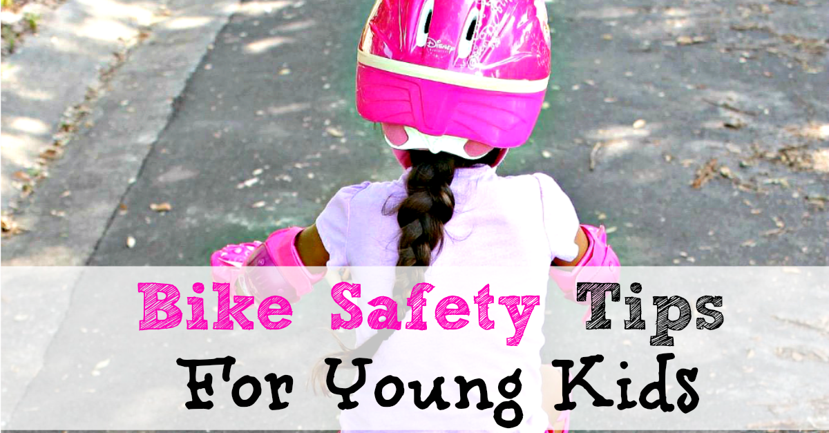 Bike Safety Tips For Young Kids