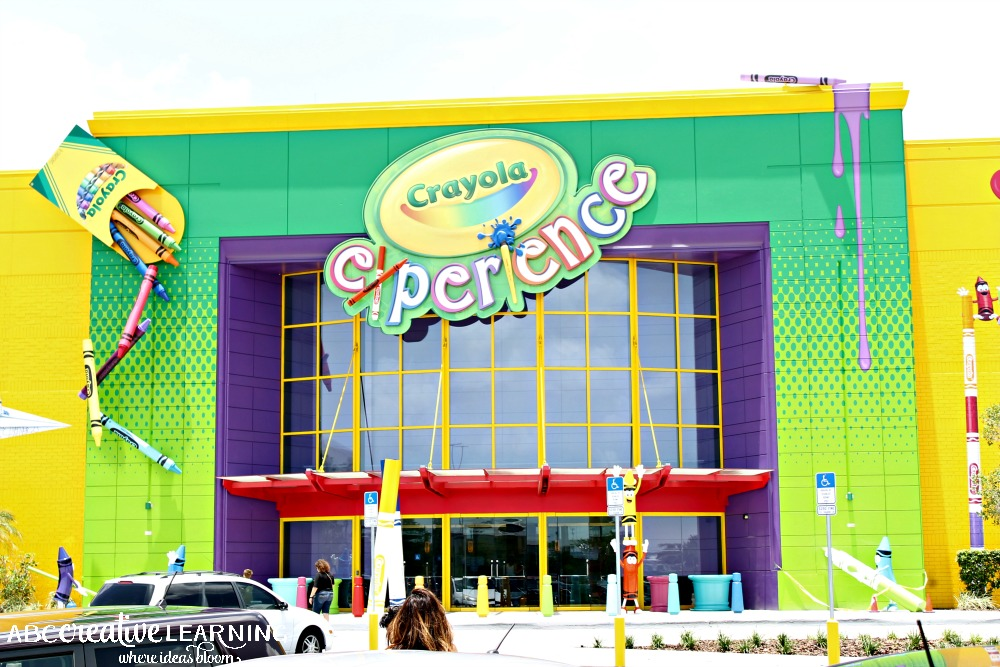 Crayola Experience Orlando Grand Opening Today