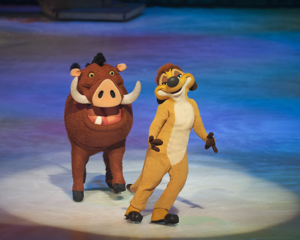 Disney On Ice 100 Years of Magic + Special Giveaway Timon Pumba