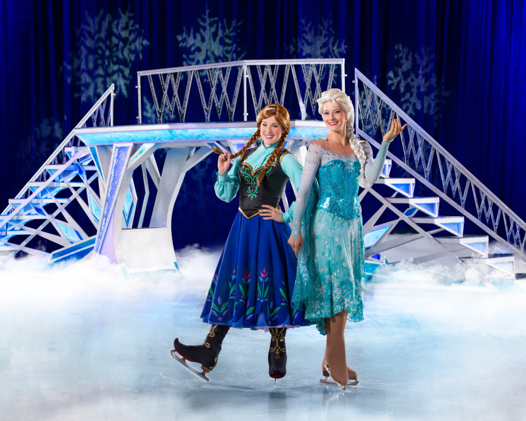 Disney On Ice 100 Years of Magic + Special Giveaway Anna Elsa