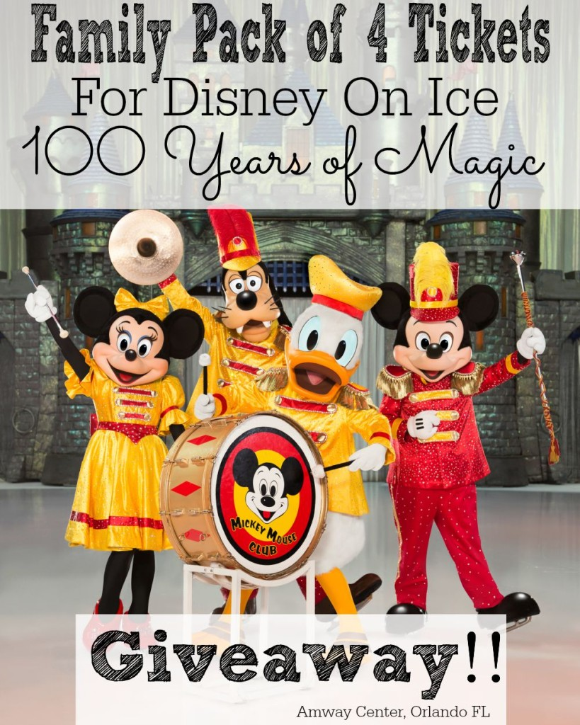 Disney On Ice 100 Years of Magic + Special Giveaway Amway Center