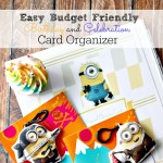 Easy Budget Friendly Birthday and Celebration Card Organizer