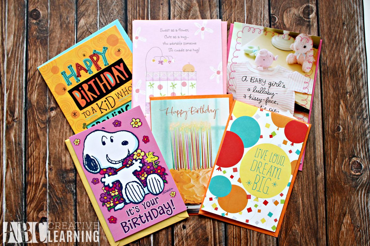 Easy Budget Friendly Birthday and Celebration Card Organizer  Variety Cards