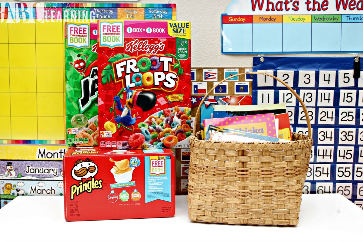 Importance of Reading and Creating a Monthly Book Basket Kelloggs