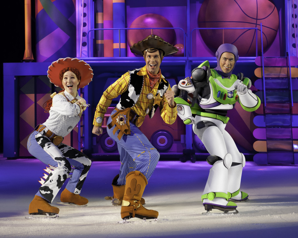 Disney On Ice 100 Years of Magic + Special Giveaway Woody and Buzz Lightyear