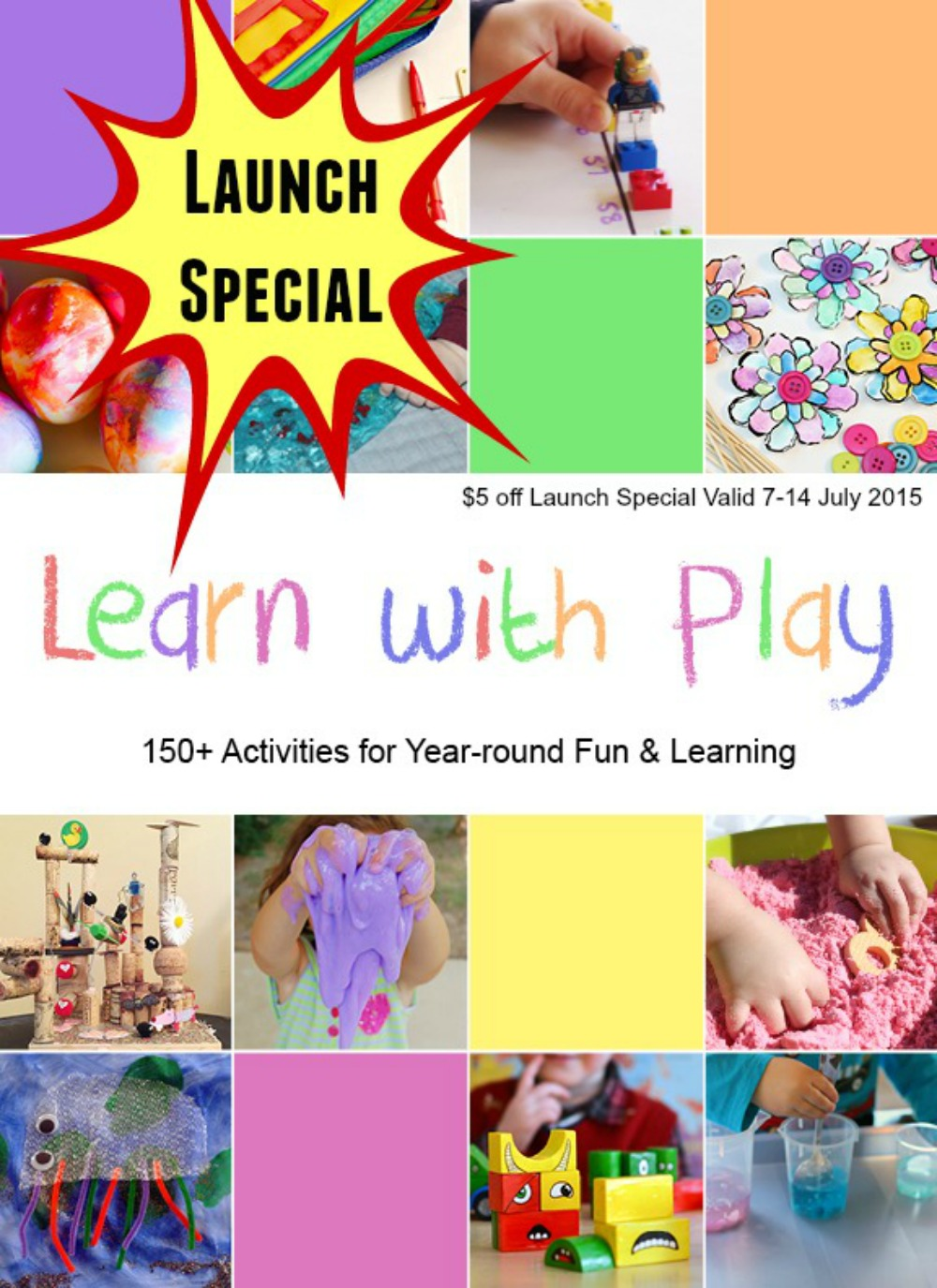 Learn with Play 150+ Activities for Year-Round Fun and Learning Book Release Special